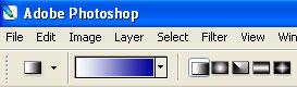 Photoshop Arbeitsleiste