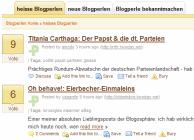 Blogperlen