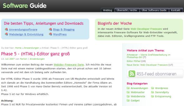 SW-Guide nachher