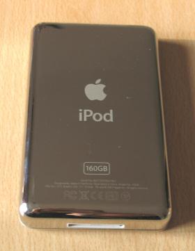 iPod Classic von hinten