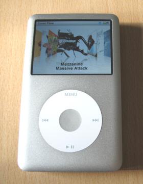 iPod Classic von vorne